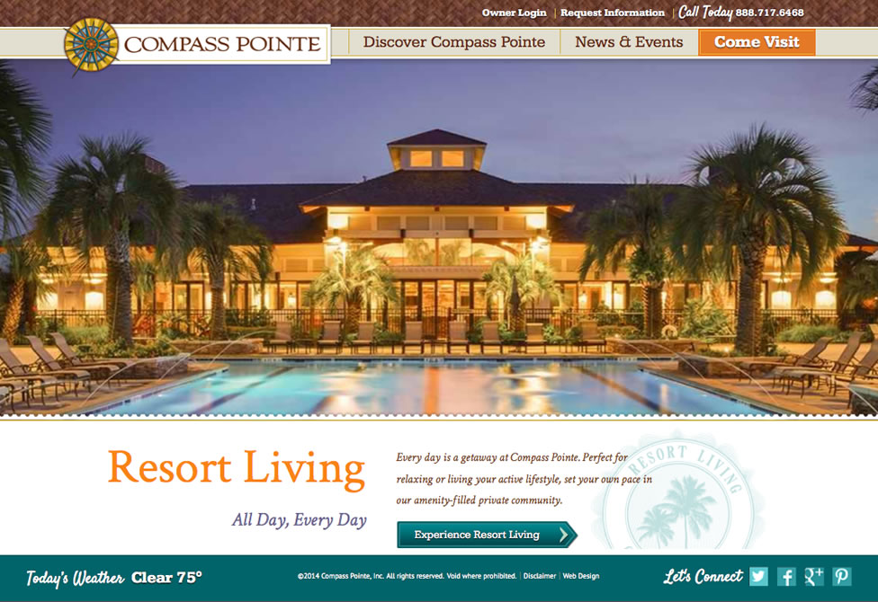 Compass Pointe Resort Living NC