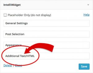Additional Text Toggle