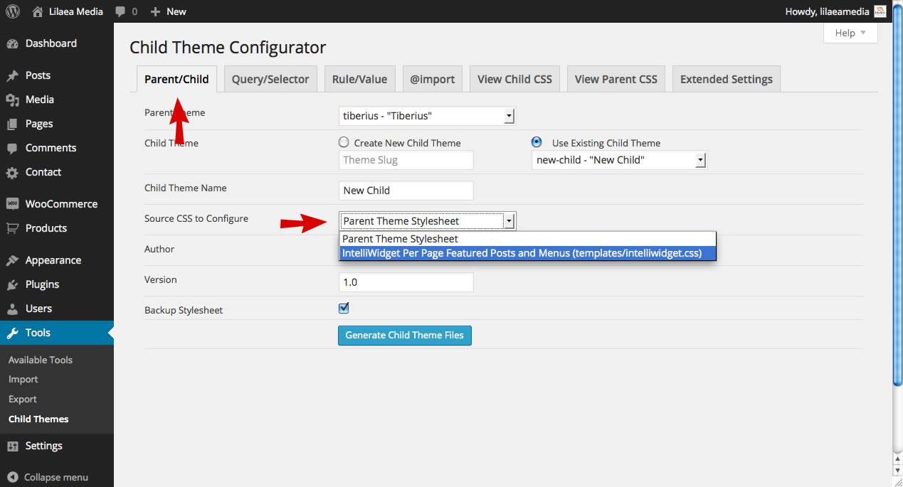 Configure WordPress Plugin Stylesheet
