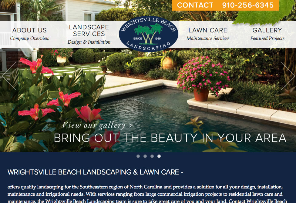 Wrightsville Beach Landscaping NC