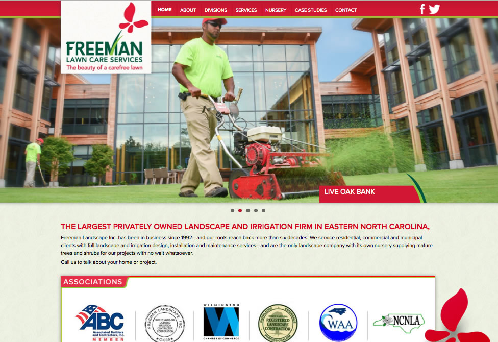 Freeman Lawn Care Wilmington NC
