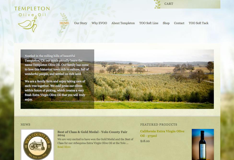 Templeton Olive Oil